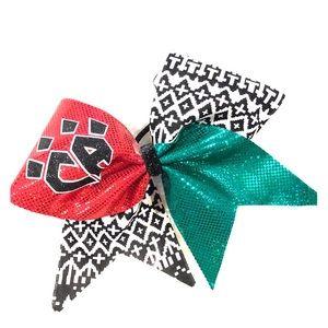 CA claw cheer bow fun pattern